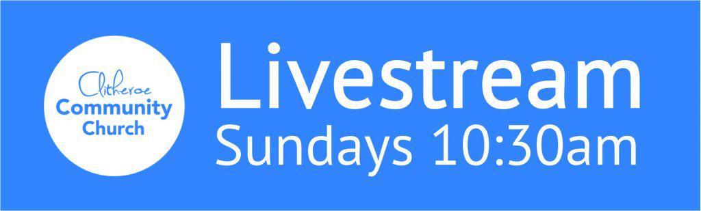 Live stream starts on YouTube at 10:30 am on Sundays